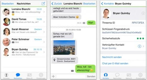 Threema für iPhone 6: Anpassung an iOS 8 und iPhone 6