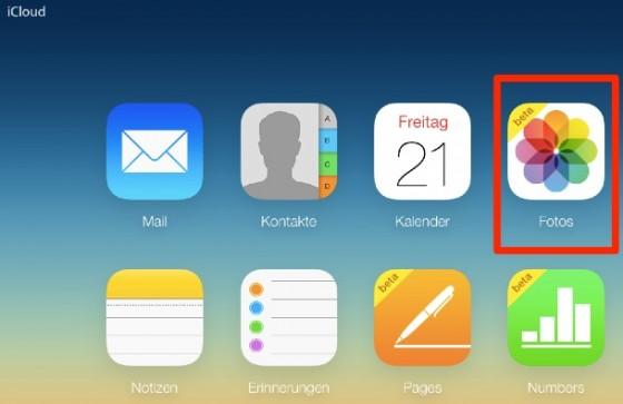 iCloud.com: Foto-Upload nun als Beta für alle verfügbar