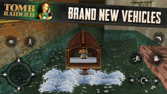 Tomb Raider II Apple iOS