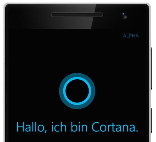 Siris Konkurrenz Cortana ist in Deutschland angekommen