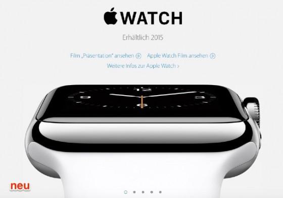 Apple Watch: Verkaufsstart in Deutschland Ende März 2015?