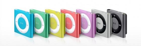 iPod shuffle nun endgültig weg - ungewöhnlich lange Lieferzeit