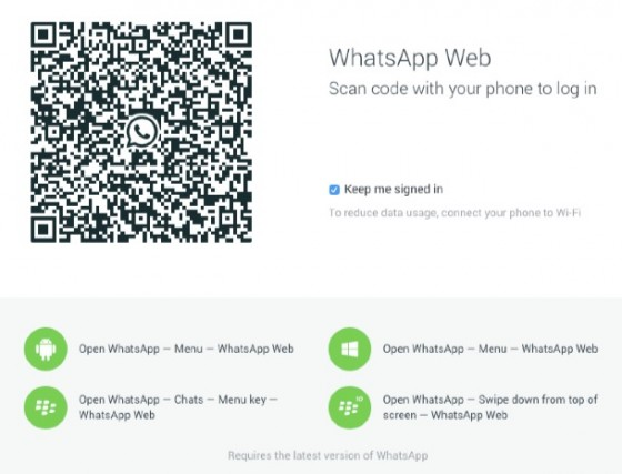 WhatsApp: Web-Version des Messengers gestartet