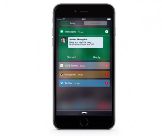iOS Mitteilungszentrale: Verbesserungen als Konzept aufgetaucht