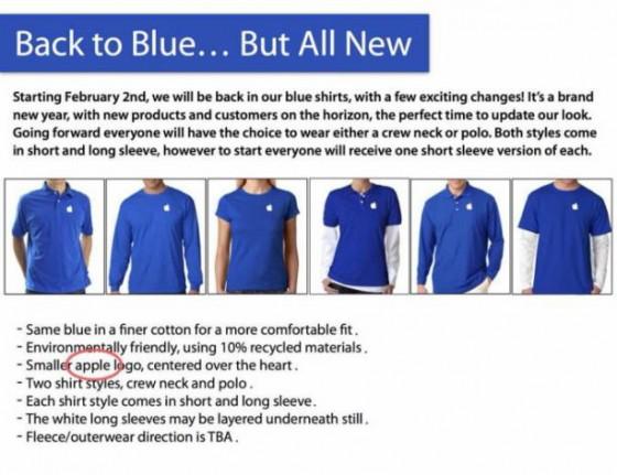 Apple Store Mitarbeiter: Neue Kleidung & Fortbildung ab Februar 2015