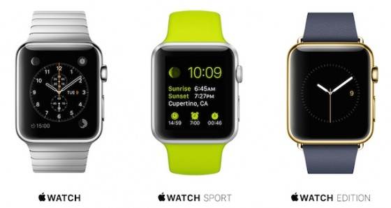 Apple Watch: Sport ab 349 US-Dollar, Edelstahl ab 749 US-Dollar