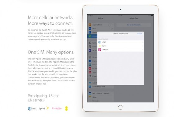 iPhone 6S: 2 GB RAM und jetzt mit integrierter Apple SIM?