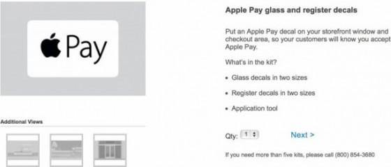 Apple Pay: Händler sollen Apple-Pay-Aufkleber bekommen