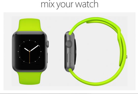 Apple Watch: Armband, Farbe und Gehäuse jetzt kombinieren