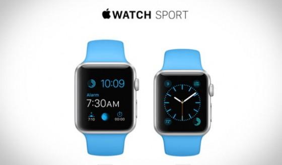 Apple Watch Sport: Armbänder sind unterschiedlich schwer