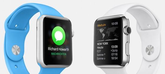 Apple Watch: Lieferzeit der 38-mm-Version verbessert sich
